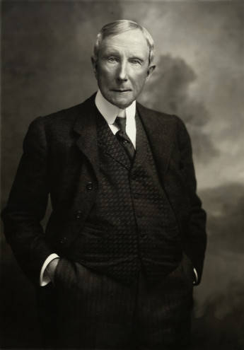 powerhouses of business william henry gates and john davison rockefeller